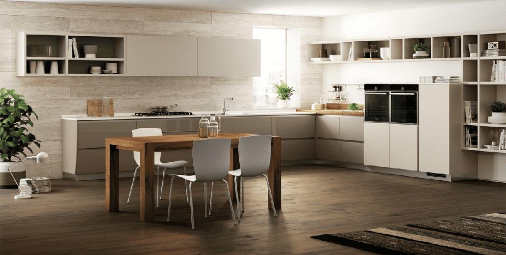 Scavolini flux swing cucina moderna arredamenti dossena for Cucina moderna 2018 pdf