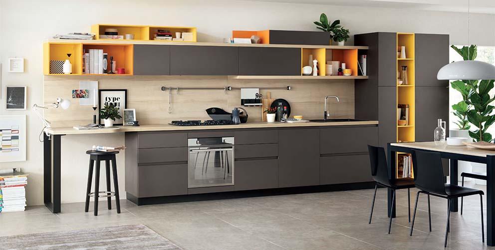 Cucine moderne arredamenti dossena for Cucina moderna 2018 pdf