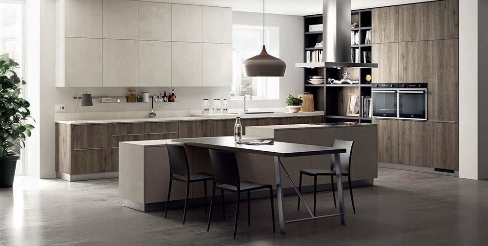 Scavolini mood cucina moderna arredamenti dossena for Cucina moderna 2018 pdf