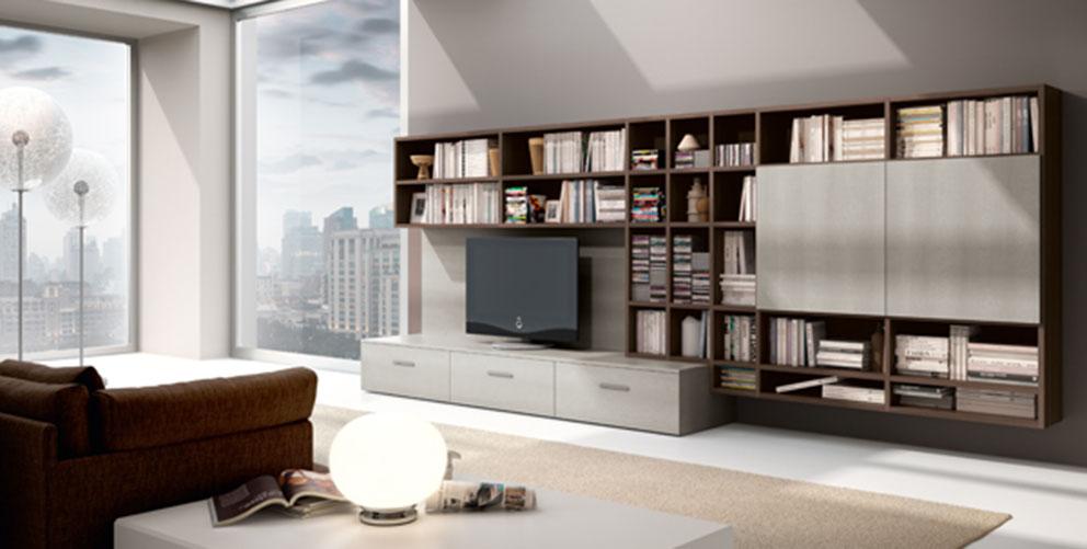 Ferri mobili zona giorno moderna arredamenti dossena for Ferri arredamenti