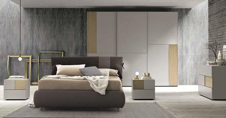Camere Da Letto Moderne Bari : Zone notte moderne arredamenti dossena