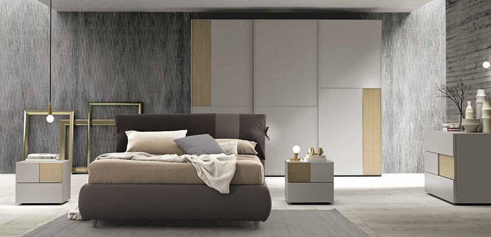 Camere da letto moderne arredamenti dossena for Camere da letto zanette